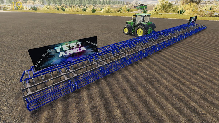 Thirty Meters Plow Mod for FS19