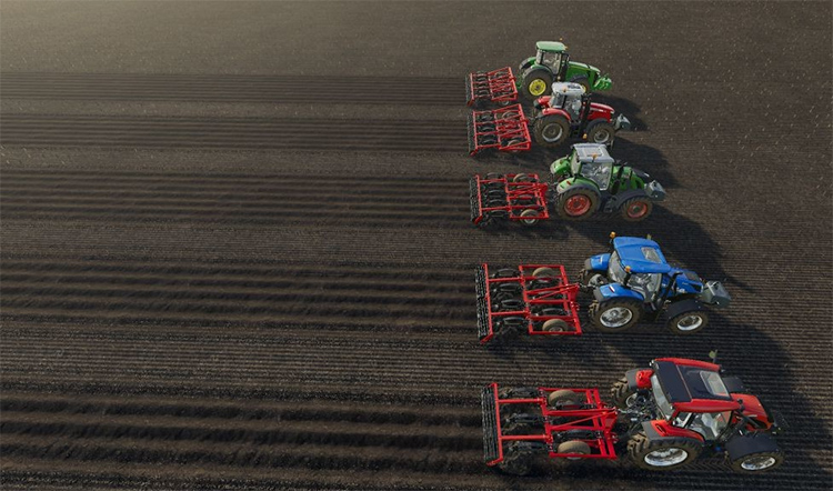 Rovic Leers DLB19 Pack for FS19