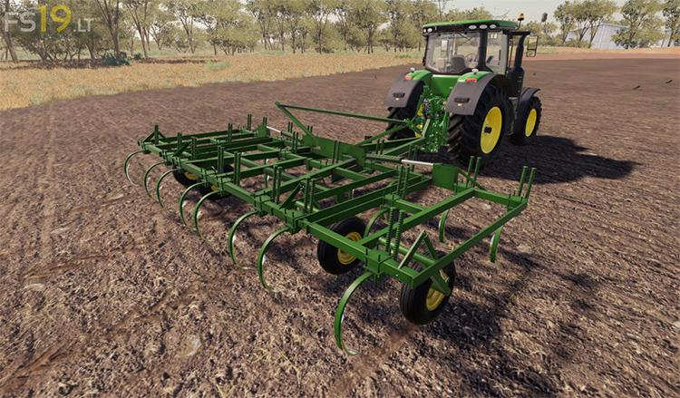John Deere Chisel Plow FS19 Mod
