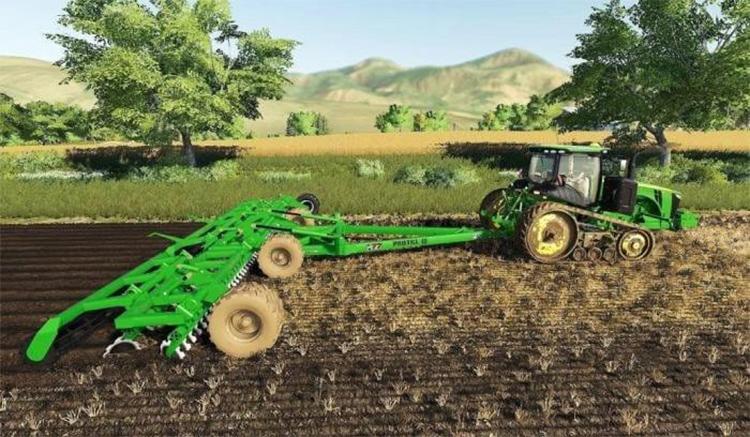 John Deere Protill Plow Mod