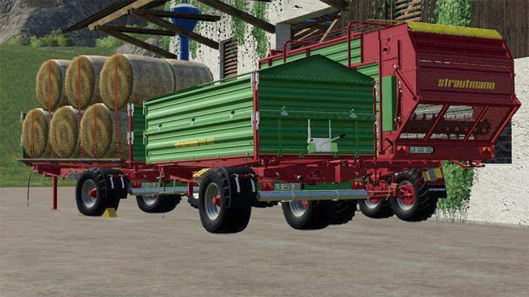 Strautmann Pack of Trailers for FS19