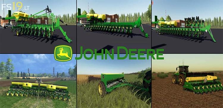 John Deere Seeders Pack for FS19
