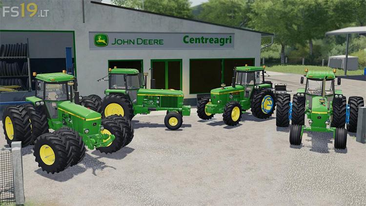 John Deere 40 Series Modpack for FS19