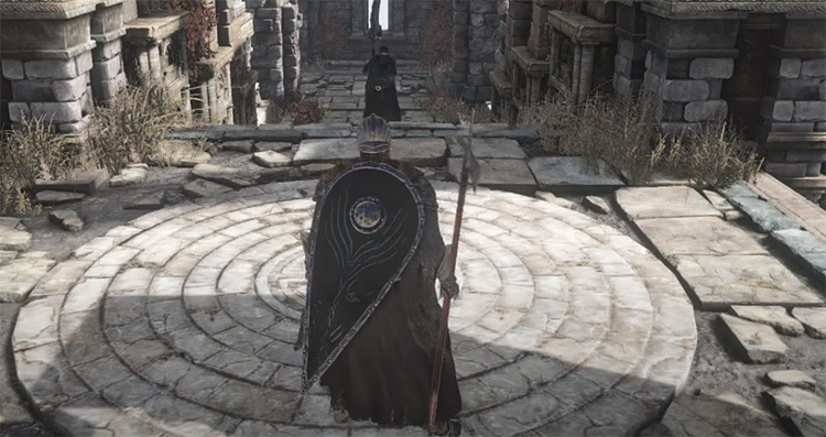 Red Hilted Halberd in DS3