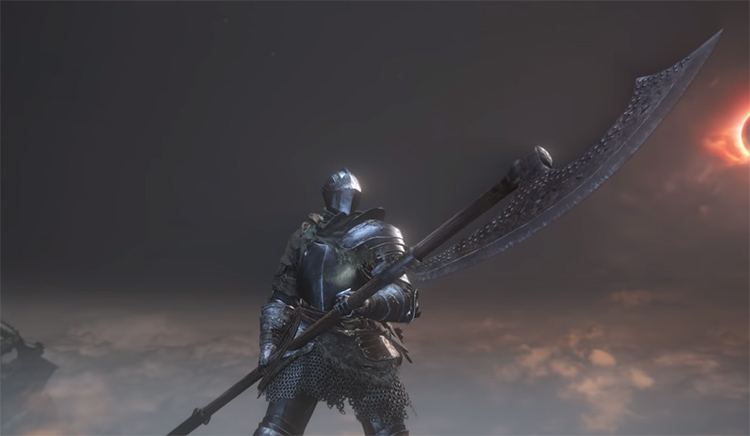 Glaive weapon in DS3