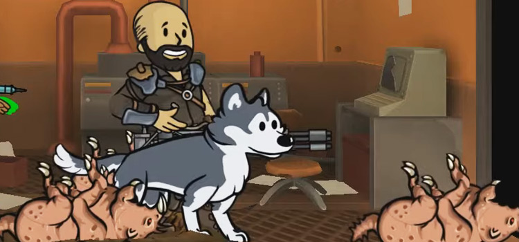Trench Husky in Fallout Shelter screenshot