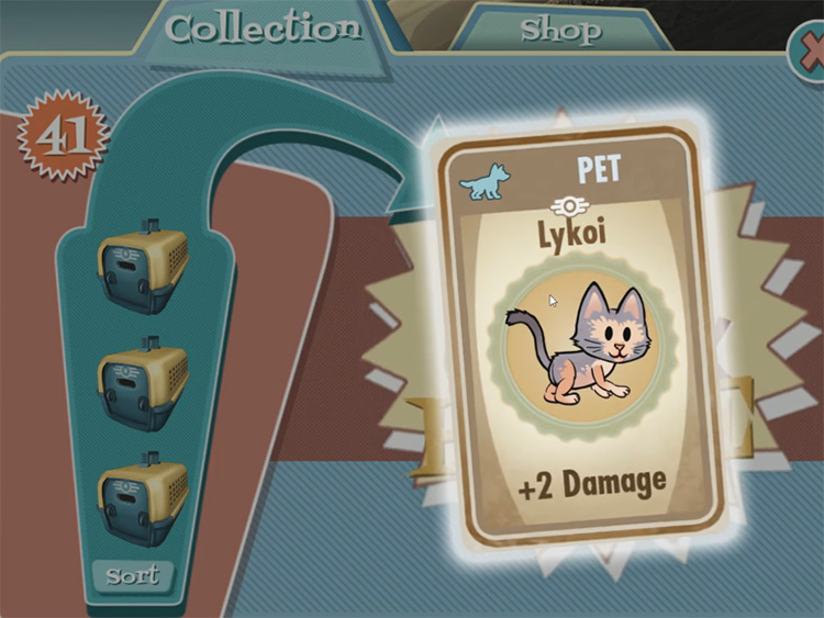 Calypso – Lykoi from Fallout Shelter