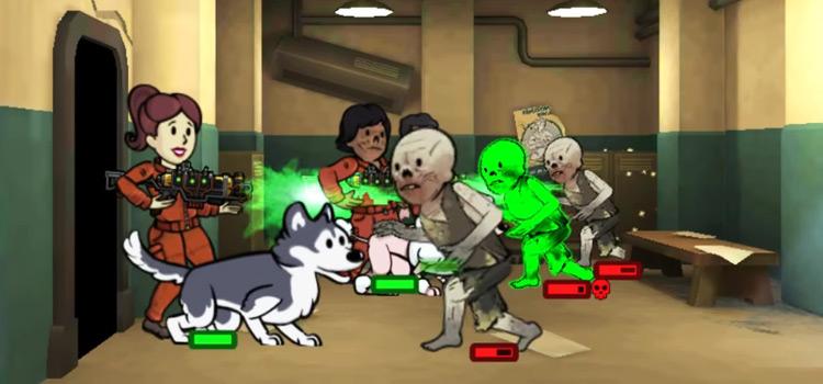 Dragons Maw screenshot - Fallout Shelter gameplay
