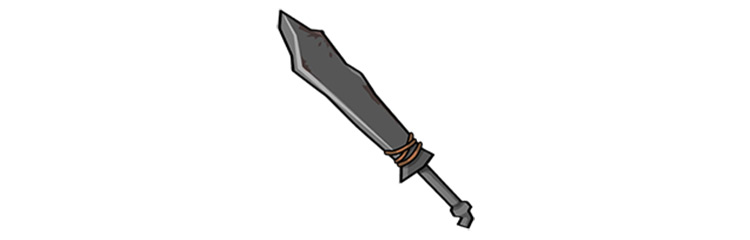 Relentless Raider Sword in Fallout Shelter
