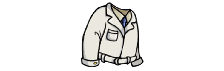 Expert Lab Coat from Fallout Shelter
