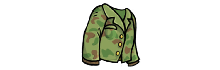 Commander Fatigues from Fallout Shelter