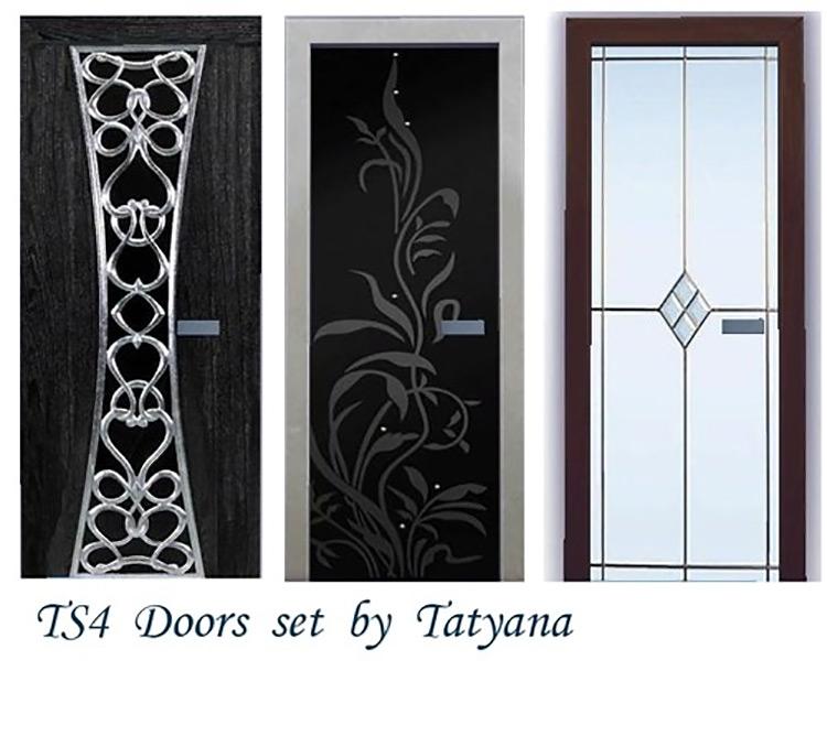 TS4 Doors Set by TatyanaName screenshot
