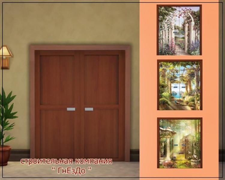 Interior Doors by Mulena Sims 4 CC