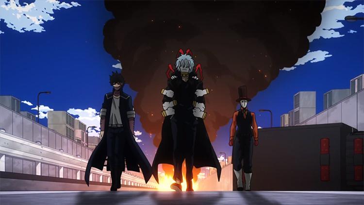 Explosion screenshot BNHA