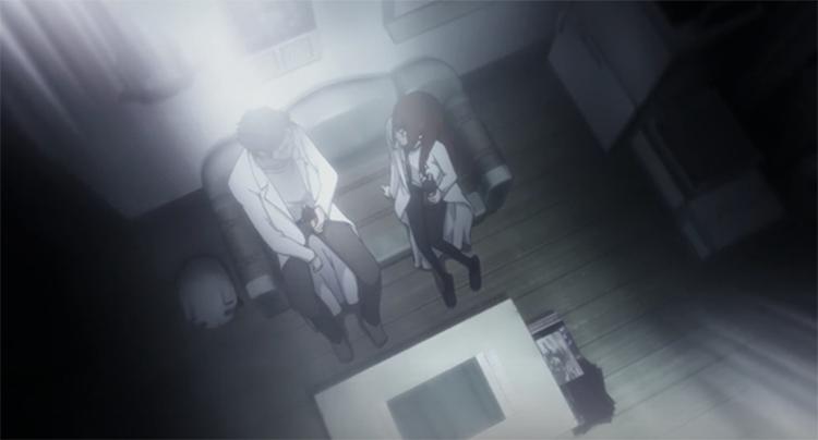 Kurisu Sacrifice scene in SteinsGate
