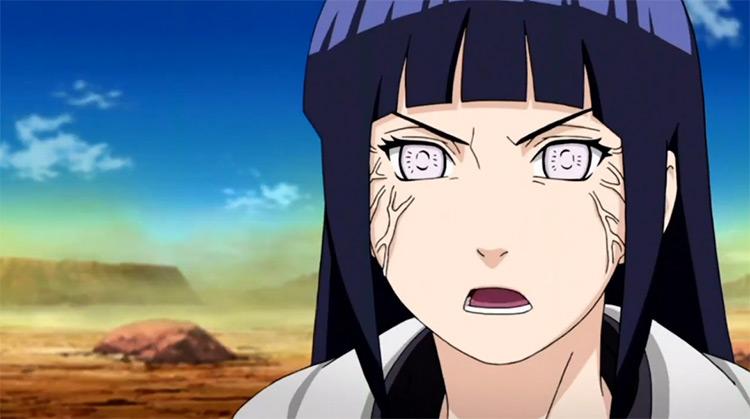 Hinata Hyuuga from Naruto: Shippuden anime