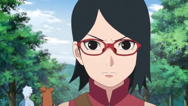 Sarada Uchiha from Boruto anime
