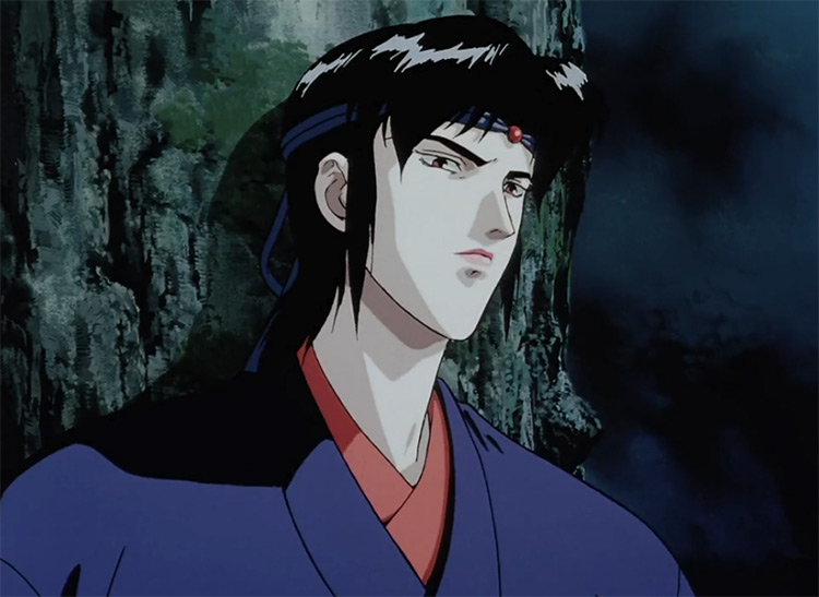 Kagero from Ninja Scrolls anime