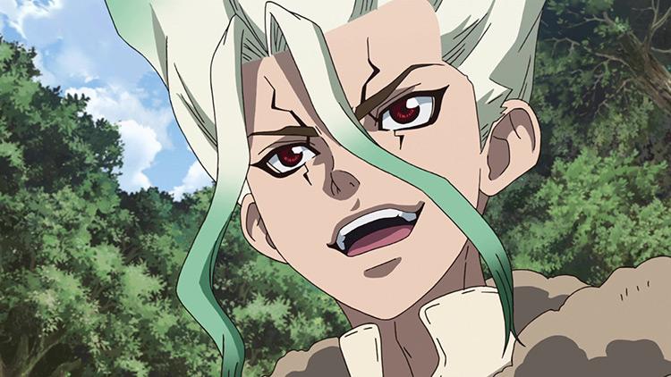 Senku Dr. Stone anime screenshot