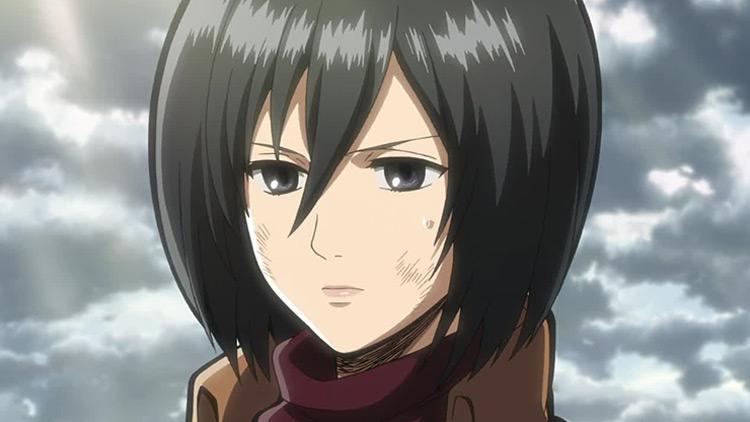 Mikasa from Attack on Titan anime