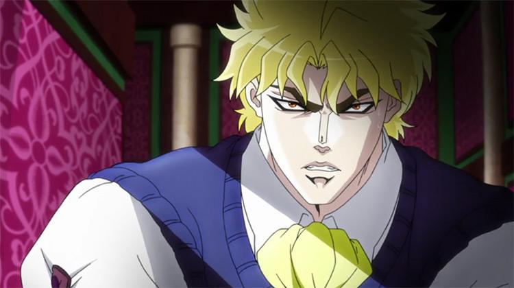 Dio Brando in JoJo's Bizarre Adventure anime
