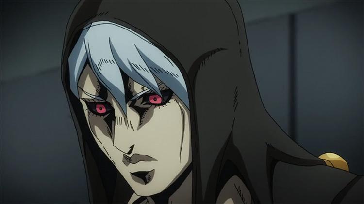 Risotto Nero in JoJo's Bizarre Adventure anime