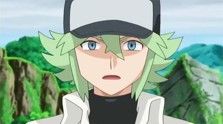 N Pokémon anime screenshot