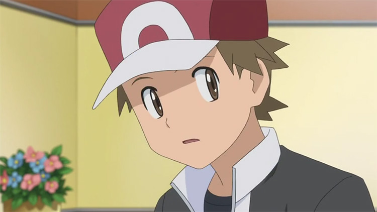 Red in Pokémon anime