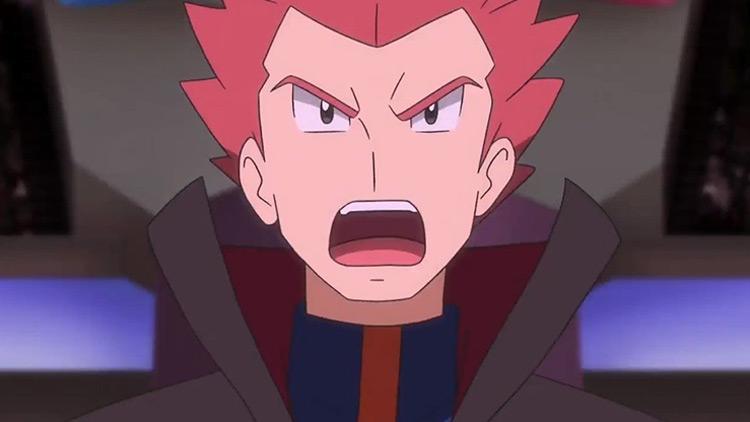 Lance in Pokémon anime