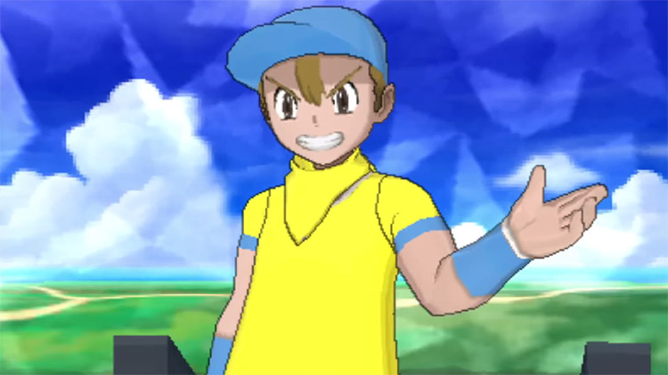 Youngster Joey from Pokemon Sun and Moon