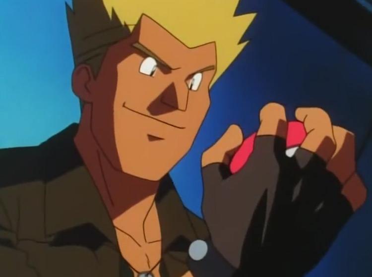 Lt. Surge Pokémon anime screenshot