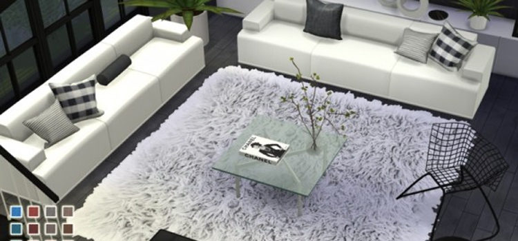 The Sims 4: Best Custom Rugs CC & Mods