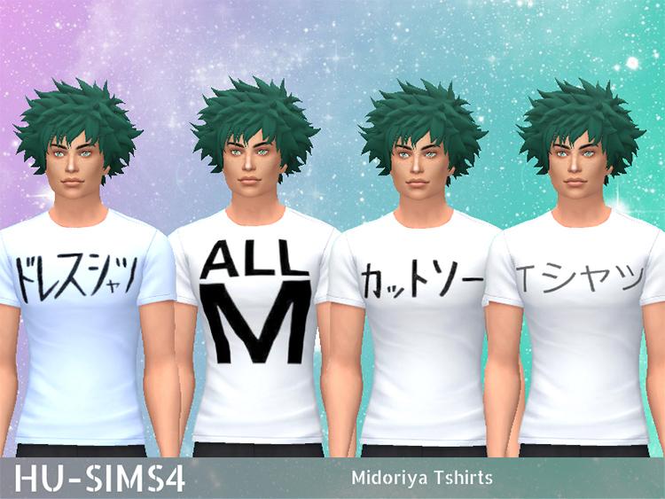 Midoriya T-Shirts CC - TS4