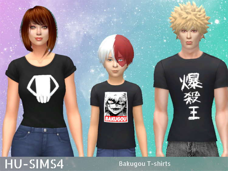 Bakugo T-Shirts CC - TS4