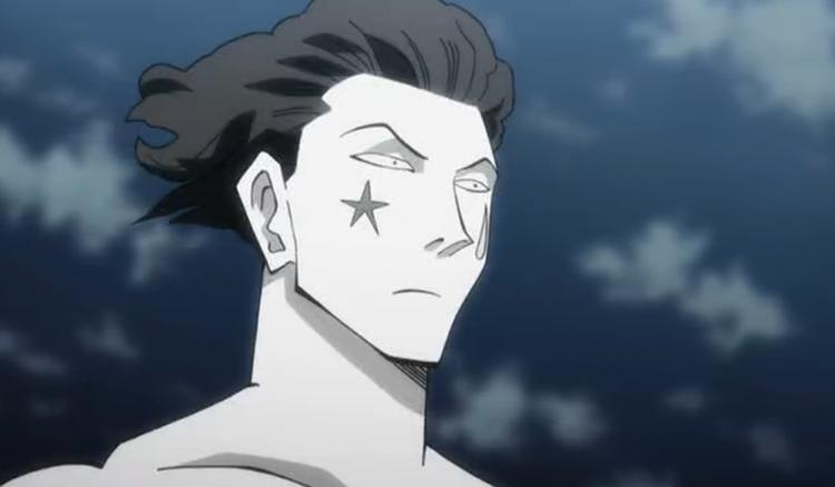 Hisoka in HxH screenshot