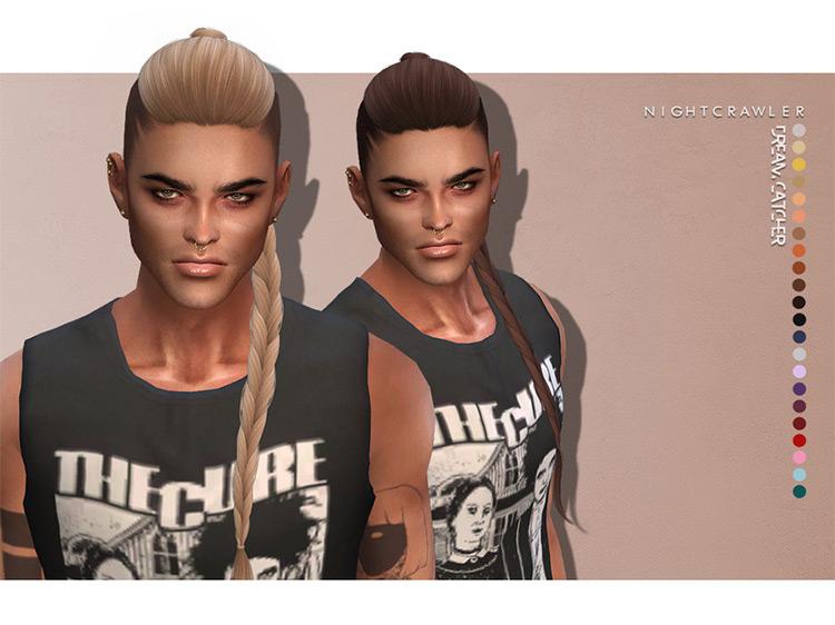 Dreamcatcher Hair Sims 4 CC