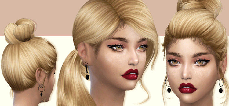Best Sims 4 Edges CC For Perfect Baby Hairs