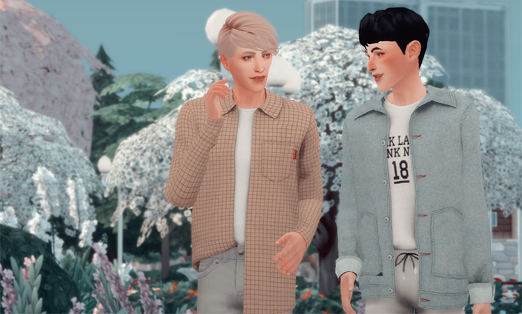 """""""Let's Walk Together"""" Pose Pack by clumsyalien Sims 4 CC"""