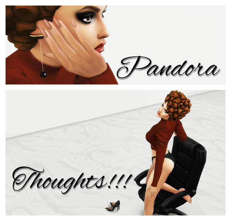 Thoughts!!! by Pandorassims4cc Sims 4 CC