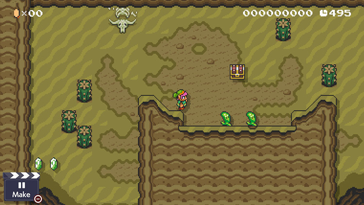 A Link to the Past Mod for SMM2