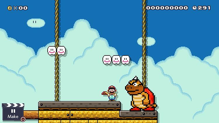 Sumo Bro Super Mario Maker 2 mod