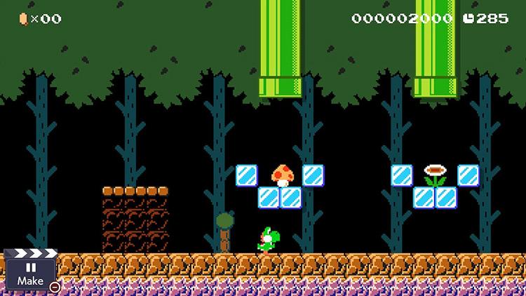 Yoshi mod for Super Mario Maker 2