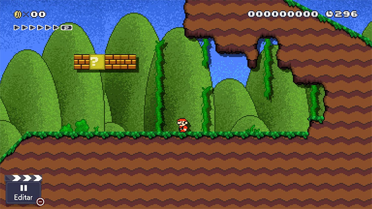 Custom Graphics mod for Super Mario Maker 2