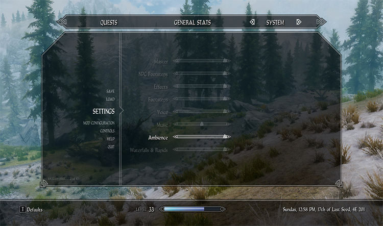 Audio Overhaul for Skyrim Mod