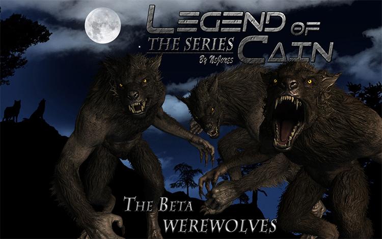 Werewolf sound FX Skyrim mod