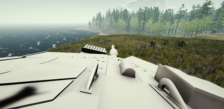 Leopard 2A6 The Forest mod