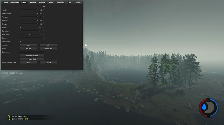 More Shortcuts The Forest mod
