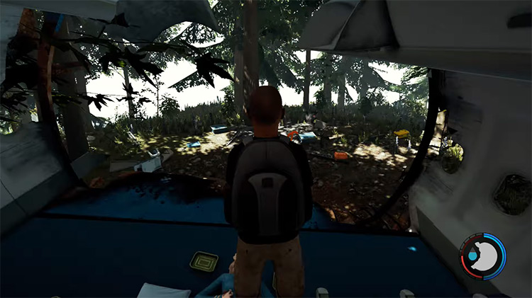 Third Person in The Forest