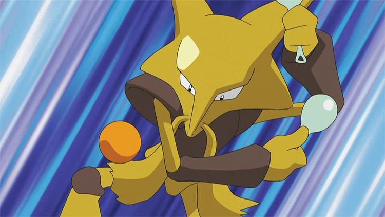 Alakazam from Pokémon anime