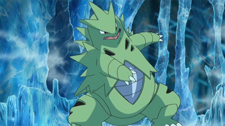 Tyranitar from Pokémon anime